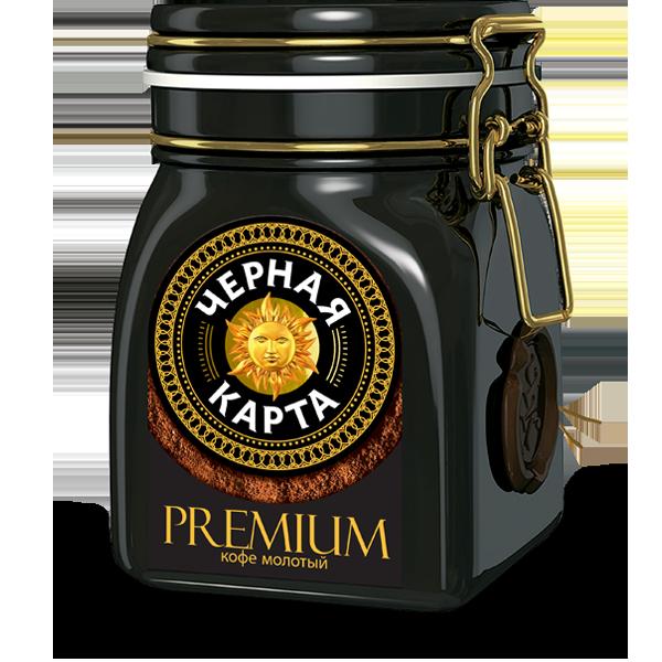 Черная Карта Premium Молотый