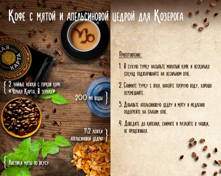 кофе для козерога